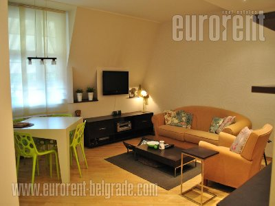 Izdavanje, Stan, BEOGRAD, VRAČAR, 45 m2, 450 EUR mesecno - id#30378