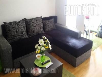 Izdavanje, Stan, BEOGRAD, NOVI BEOGRAD, BELVILLE, 45 m2, 450 EUR mesecno - id#36026