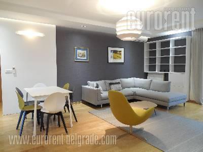 Izdavanje, Stan, BEOGRAD, PALILULA, CENTRAL GARDEN, 115 m2, 1800 EUR mesecno - id#36664