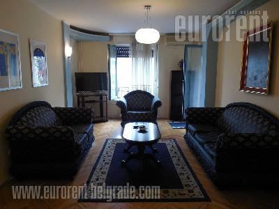 Izdavanje, Stan, BEOGRAD, SAVSKI VENAC, CENTAR, 78 m2, 600 EUR mesecno - id#36701