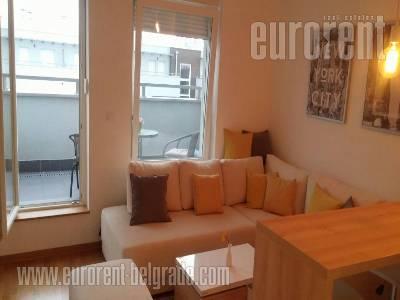 Izdavanje, Stan, BEOGRAD, NOVI BEOGRAD, SAVADA, 34 m2, 400 EUR mesecno - id#37225