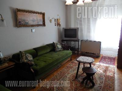 Izdavanje, Stan, BEOGRAD, Savski Venac, SLAVIJA, 93 m2, 460 EUR mesecno - id#37631