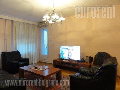 Izdavanje, Stan, BEOGRAD, Savski Venac, CENTAR, 105 m2, 800 EUR mesecno - id#8592